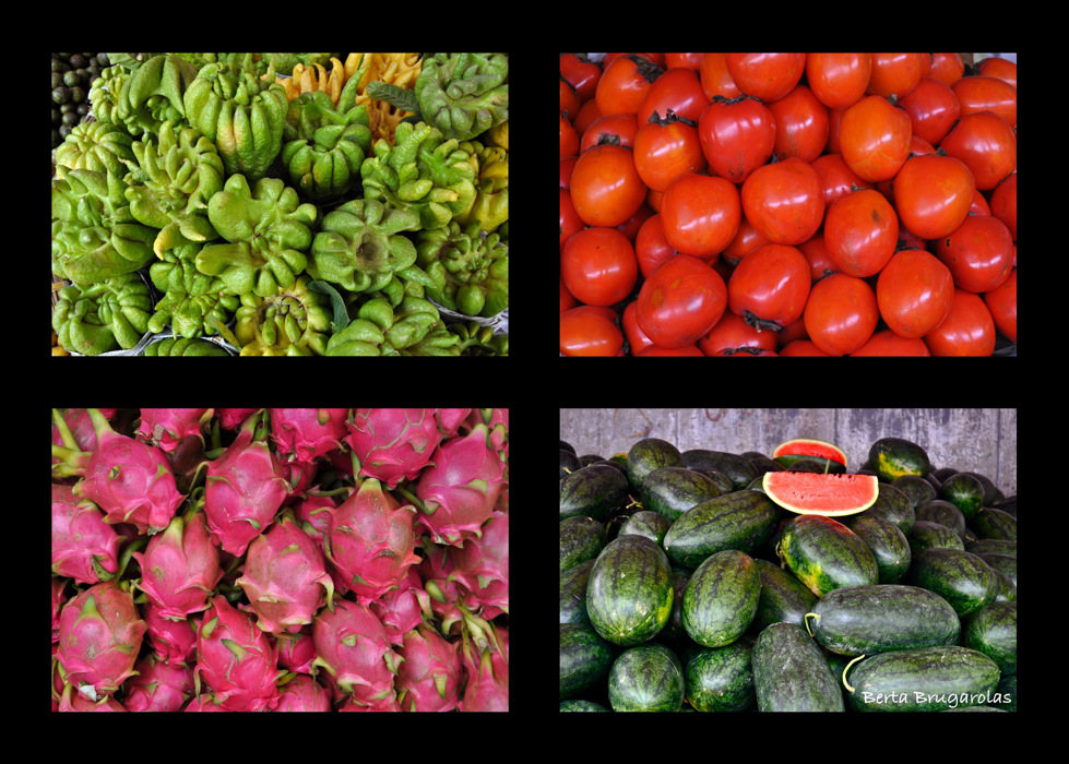 photoblog image Vietnam serie: Fruits and vegetables