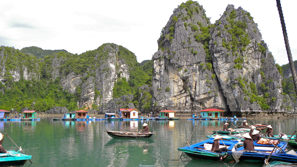 photoblog image Vietnam serie: floating village